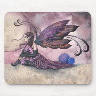 モーリーハリスンによる夏の月の妖精のマウスパッド マウスパッド