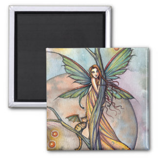 モーリーハリスンによる妖精および妖精猫の磁石 マグネット