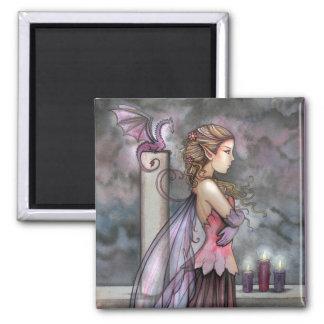 モーリーハリスンによる妖精のドラゴンの磁石 マグネット