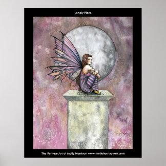 モーリーハリスンによる孤独な場所の妖精ポスター ポスター