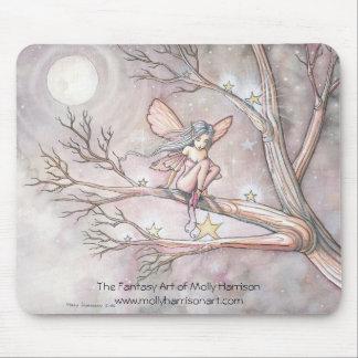 モーリーハリスンによる星の妖精のマウスパッド「木」 マウスパッド