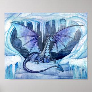 モーリーハリスンによる氷のドラゴンポスター ポスター
