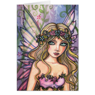 モーリーハリスンによる甘い庭の妖精カード カード