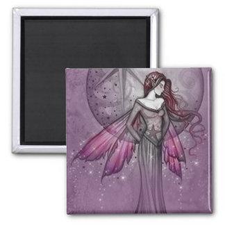 モーリーハリスンによる紫色の妖精の磁石 マグネット