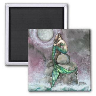 モーリーハリスンによる緑の人魚の磁石 マグネット