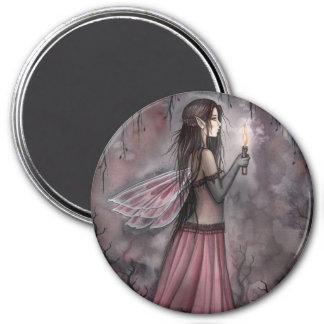 モーリーハリスンによる蝋燭の磁石を持つ妖精 マグネット