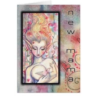 モーリーハリスンによるCard Fantasy Art新しいママ カード