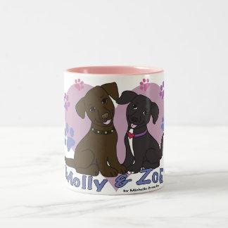 モーリー及びソエ ツートーンマグカップ
