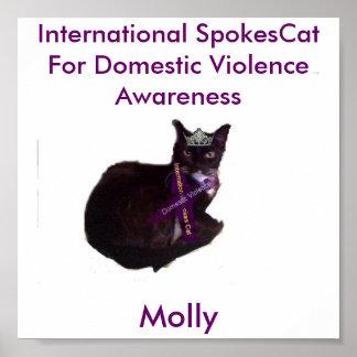 モーリー、モーリー、ドームのための国際的なスポーク猫… ポスター
