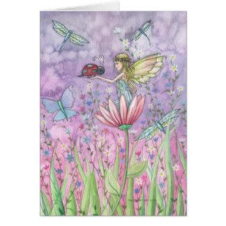 モーリーHarrisionによる妖精のNotecardの挨拶状 グリーティングカード