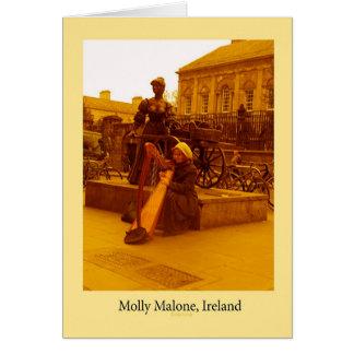 モーリーMalone、ダブリン グリーティングカード