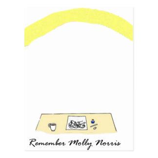モーリーNorrisを覚えて下さい 葉書き