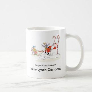 モールのサンタのラップのマグの子供 コーヒーマグカップ