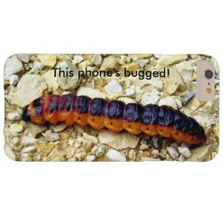 ヤギのガの幼虫によって煩わせられるiPhoneの場合 Barely There iPhone 6 Plus ケース