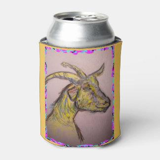ヤギのスケッチ 缶クーラー