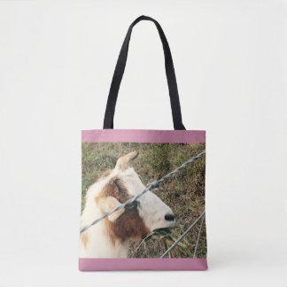 ヤギのトートバック トートバッグ