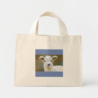 ヤギのバッグ ミニトートバッグ