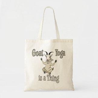 ヤギのヨガは事| GetYerGoat™です トートバッグ