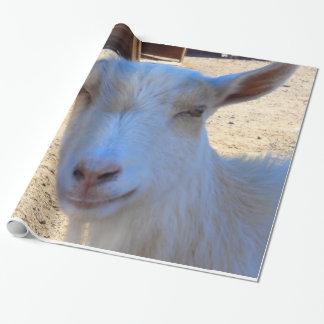 ヤギの包装紙 ラッピングペーパー