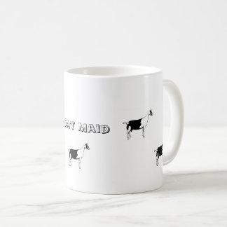 ヤギの女中のコーヒー・マグ コーヒーマグカップ