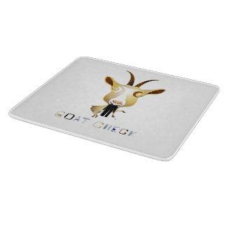 ヤギの点検- ZooDoの絵 カッティングボード