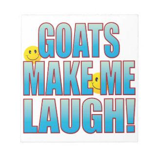 ヤギの笑いの生命B ノートパッド