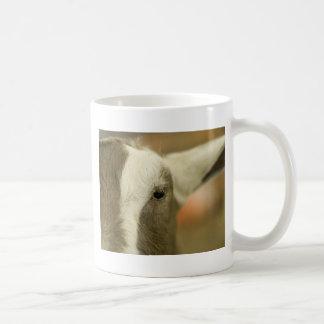 ヤギの顔 コーヒーマグカップ