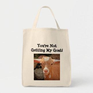 ヤギの食料雑貨のトート トートバッグ
