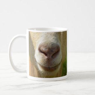 ヤギの鼻のマグ コーヒーマグカップ