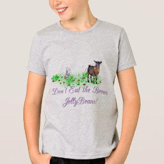ヤギはブラウンのゼリー菓子を食べません Tシャツ