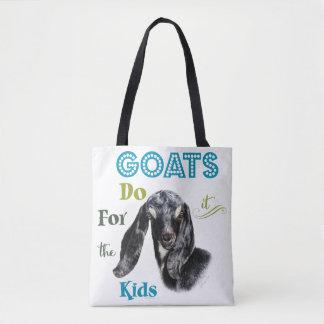 ヤギは|子供GetYerGoat™のためのそれをします トートバッグ