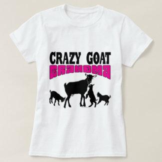 ヤギ|の熱狂するなヤギの祖母のピンクGYG Tシャツ