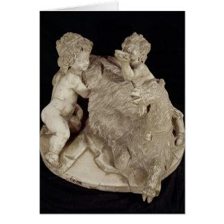ヤギAmalthea、c.1615 カード