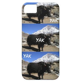 ヤクのヤクのヤクのおもしろいなヒマラヤヤクのiPhone 5の場合 iPhone SE/5/5s ケース