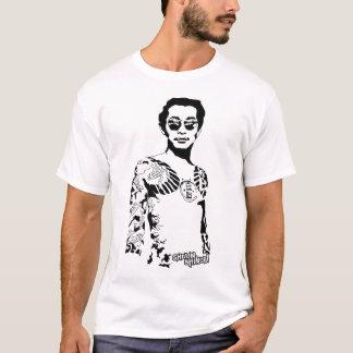 ヤクザは入れ墨します Tシャツ