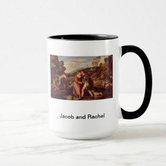 ヤコブおよびレイチェルの起源29 マグカップ