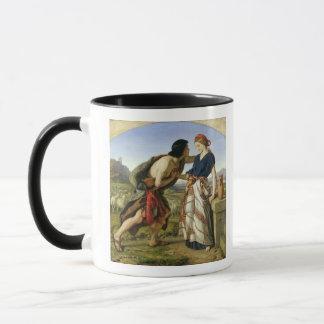 ヤコブおよびレイチェル1853年の会合 マグカップ