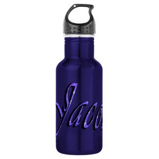 ヤコブの名前、ロゴ、男の子の再使用可能な水差し ウォーターボトル