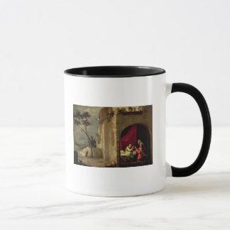 ヤコブを賛美しているアイザック マグカップ