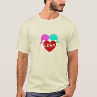 ヤコブ及びSelena (愛)のワイシャツ Tシャツ