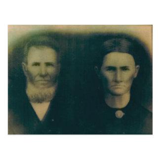 ヤコブH.B.及びマーサジェーン(ラッセル)ミラー ポストカード