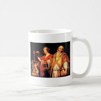 ヤコブJordaens著宗教アレゴリー コーヒーマグカップ