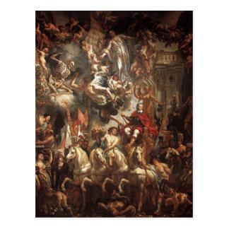 ヤコブJordaens著Frederik Hendrikの勝利 ポストカード