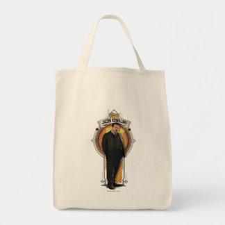 ヤコブKowalskiのアールデコのパネル トートバッグ