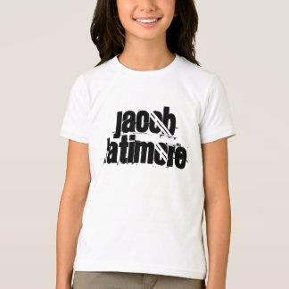 ヤコブLatimoreの女の子の信号器のティー Tシャツ