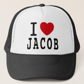 """ヤコブLatimore """"私はヤコブ""""をトラック運転手の帽子愛します キャップ"""