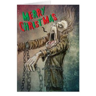 ヤコブMarleyの幽霊からのメリーなクリスマスキャロル カード