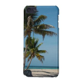 ヤシの木および白い砂のビーチ iPod TOUCH 5G ケース