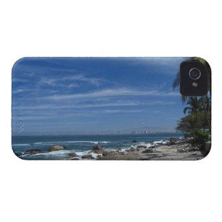 ヤシの木のビーチ Case-Mate iPhone 4 ケース