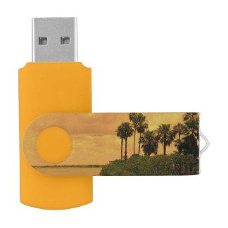 ヤシの木の幻想 USBフラッシュドライブ